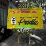 bunga papan turut berduka cita prodia di toko bunga sukoharjo SKO DC01