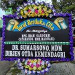 bunga papan turut berduka cita kemendagri di toko bunga sukoharjo SKO DC02