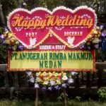 bunga happy wedding di toko bunga karanganyar solo SLO HW02