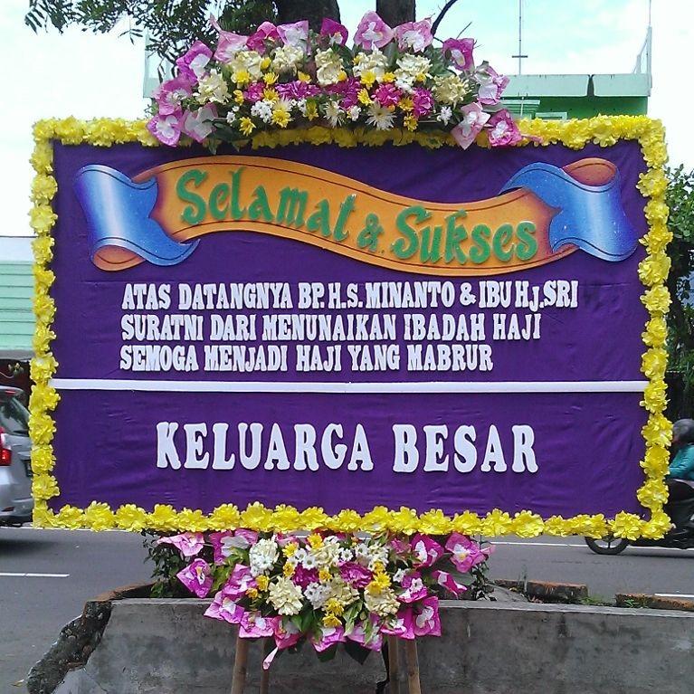 gambar bunga papan ucapan selamat di toko bunga karanganyar solo KRA SS02