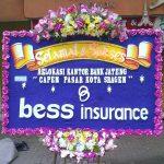 bunga papan ucapan bess insurance di toko bunga sukoharjo SKO SS02