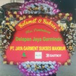 gambar bunga ucapan selamat dan sukses pt garment sukses di toko bunga sukoharjo SKO SS03