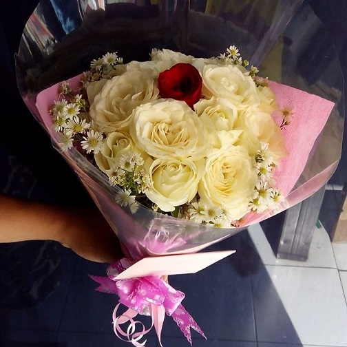 gambar buket bunga SLO HB02 - toko bunga solo