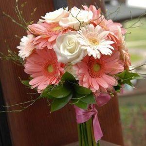 buket bunga garbera