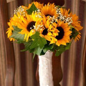 buket bunga matahari sunflower